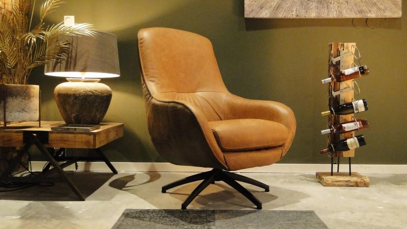 Bequemes Sitzen mit einem Sessel